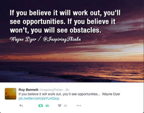 Opportunity or obstacle?