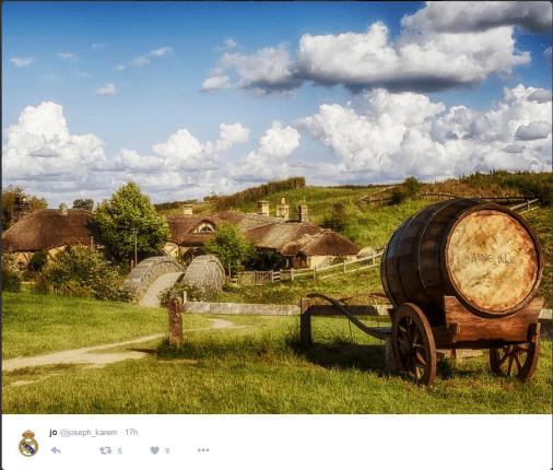 Beautiful Hobbit-Friendly Countryside.