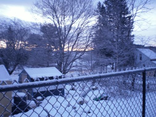 Sunrise December 9, 2016