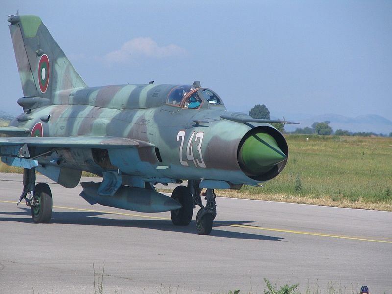 MiG-21_Bulgarian_Air_Force