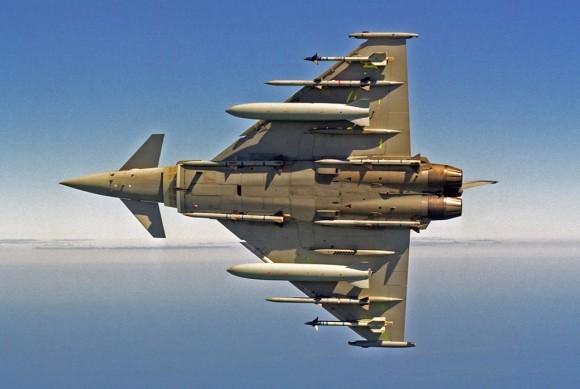 Eurofighter Typhoon under view