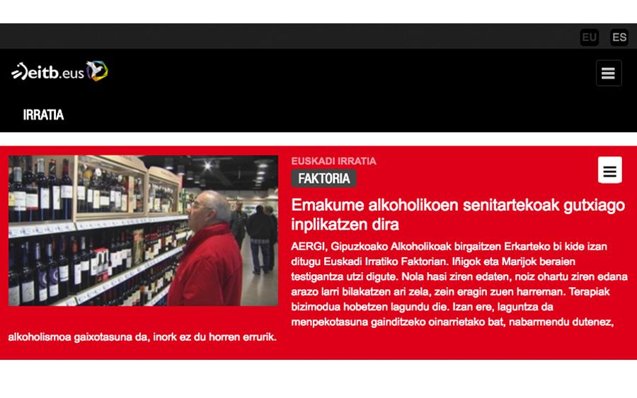 Entrevista a usuarios de AERGi en Euskadi Irratia