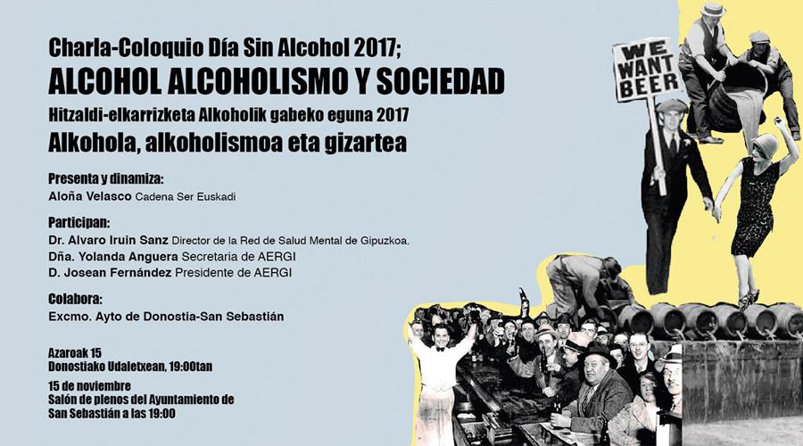 Alcohol, Alcoholismo y Sociedad: VI Jornada sobre Alcoholismo y Adicciones