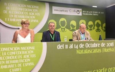'Adicción y sociedad' Aergi cierra la Convención Nacional de Caarfe