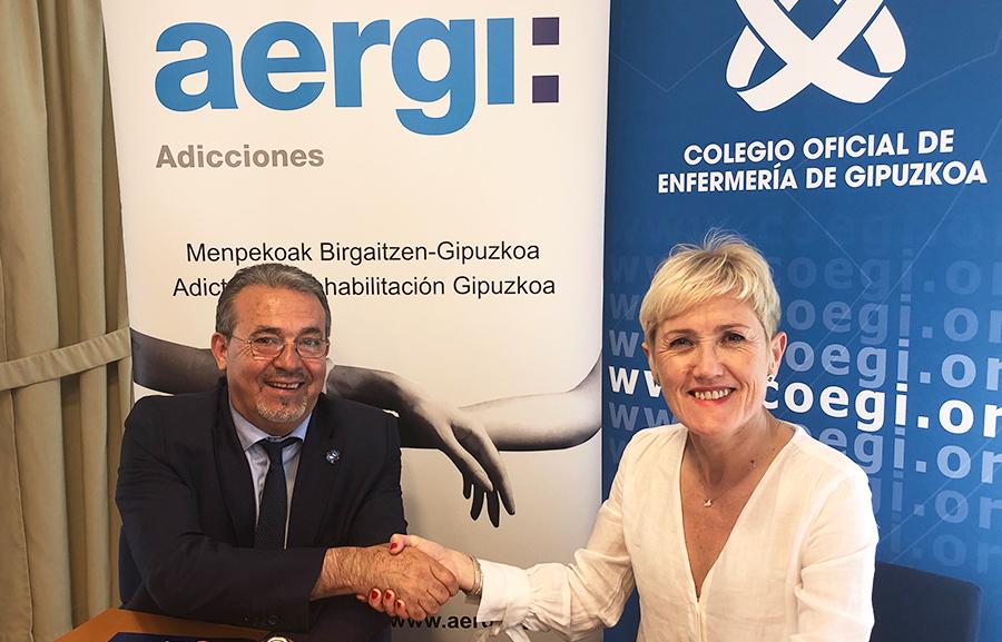 AERGI formará a las más de 5.000 enfermeras colegiadas en Gipuzkoa sobre adicción