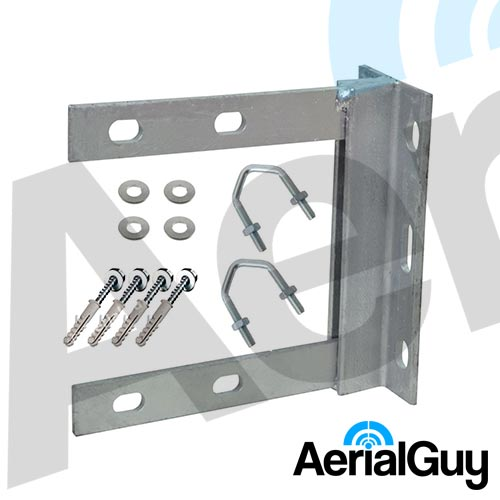 AerialGuy - 6x6 Galvanised Wall Bracket Kit