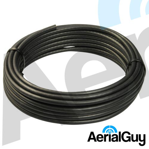 AerialGuy - Black RG6 Coaxial Satellite Cable