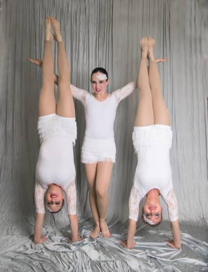 Maggie Gates, Sara Colvard, and Megan Radloff