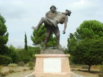 Statue at Gallipoli