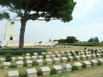 Lone Pine - resting place of the Australian Soldiers of the Battle at Gallipoli of WWI