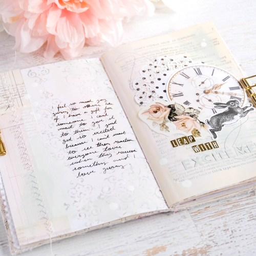 how to begin art journaling