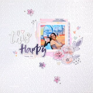 scrap with me #7 | this happy happy day