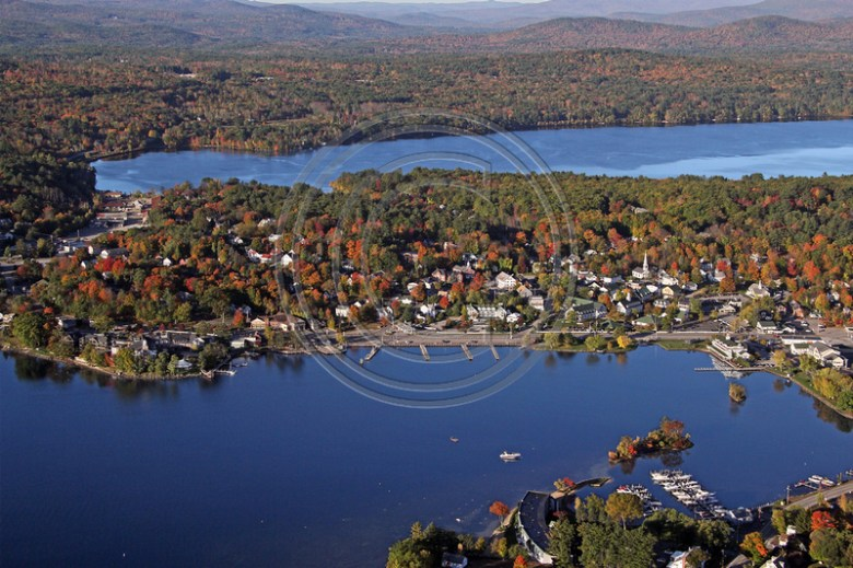 Aerial Photo NH | Meredith