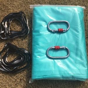 Aqua Marine Aerial silk hammock