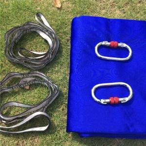 royal blue Aerial silk hammock