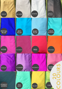 aerial silks colour options australia