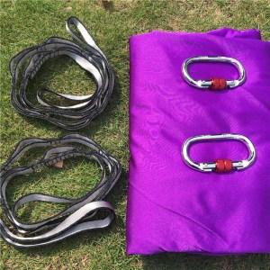 violet Aerial silk hammock