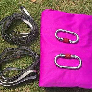 Magenta Aerial silk hammock