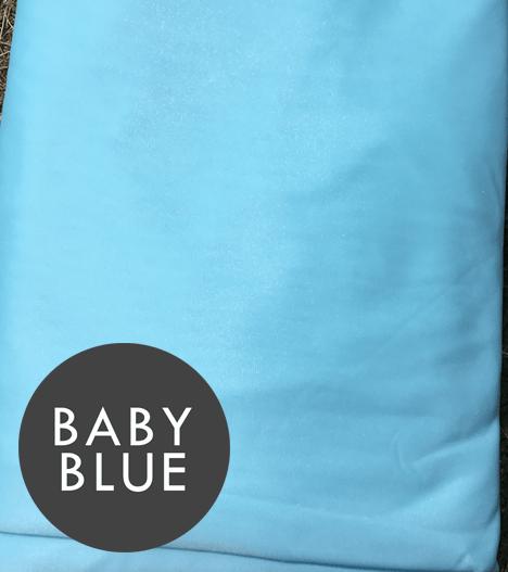 aerial silks baby blue