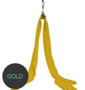 aerial silks gold