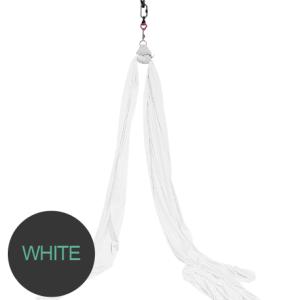Aerial silks White