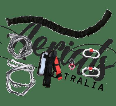 aerial bungee gear hardware