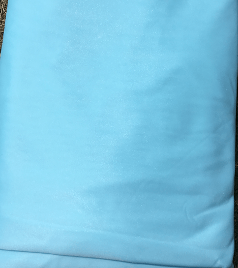 light blue aerial silks