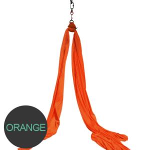 Aerial silks Orange