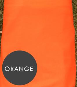 orange aerial silks