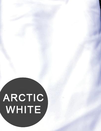 arctic white aerial silks