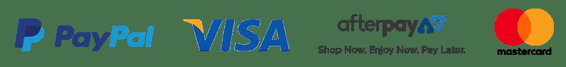 Aerial paypal afterpay visa mastercard
