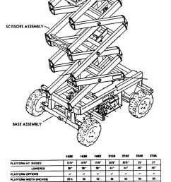 wiring diagram for skyjack scissor lift skyjack 3219 [ 800 x 1825 Pixel ]