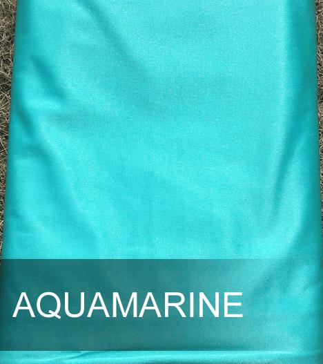 Aqua marine aerial silks
