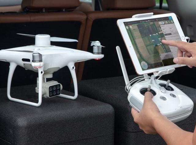 droni per agricoltura di precisione - mappature con droni