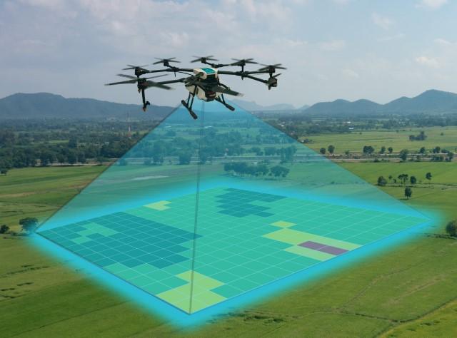 droni per agricoltura di precisione - mappature