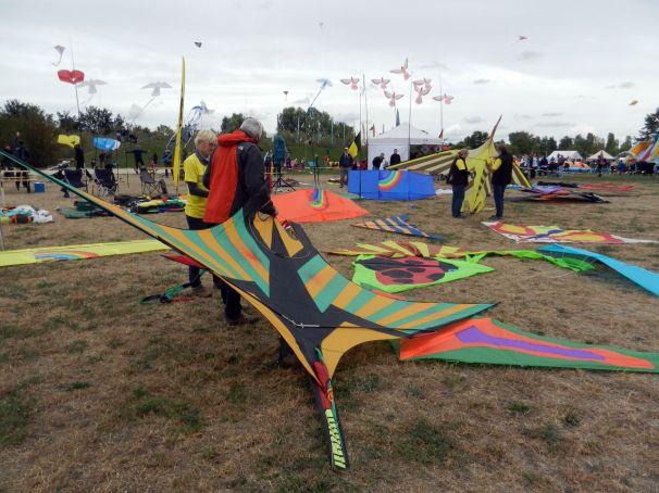 Team Elbwind auf dem 30. Drachenfest in Potsdam
