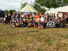 Teilnehmer des 31. Drachenfests in Potsdam