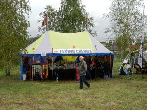Flying Colors auf dem Veranstaltungsplatz