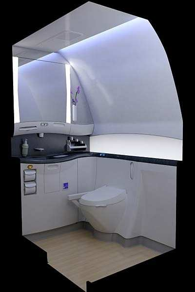 Boeing Builds A Better Bathroom For The 787  AeroNews Network