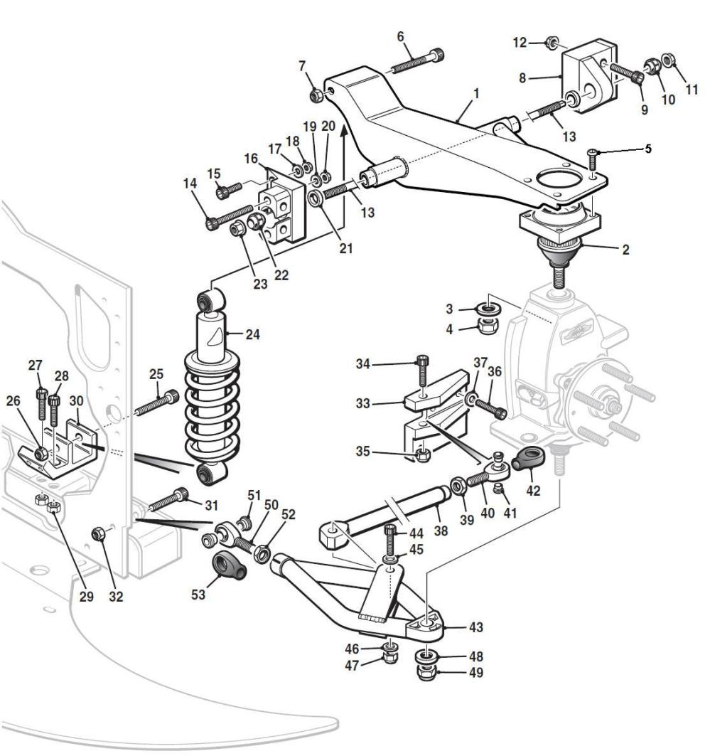 medium resolution of front suspension hover over labels to view part numbers