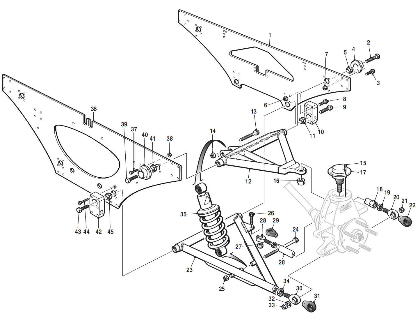 hight resolution of rear suspension hover over labels to view part numbers