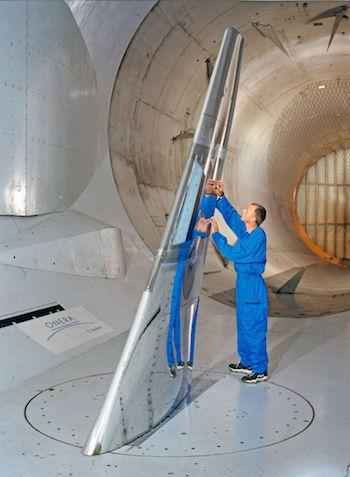 2. Ailes laminaire à grande échelle dans la soufflerie S1MA de l'ONERA