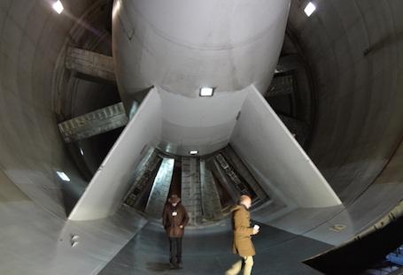 2. Les deux ventilateurs contrarotatifs de S1MA (13,5 m de diamètre)