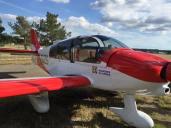 ROBIN DR400-120 Dauphin – 3 places, 120cv, 180 km/h en version rouge