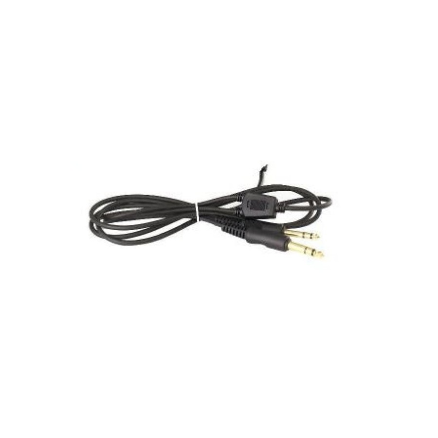 Replacement Cable for headset with 2 standard aviation