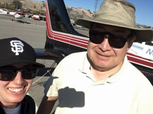first solo, cessna, san jose