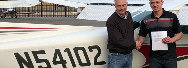 New Private Pilot – Taylor Donato