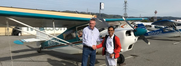 New Private Pilot – Vasu Murthy