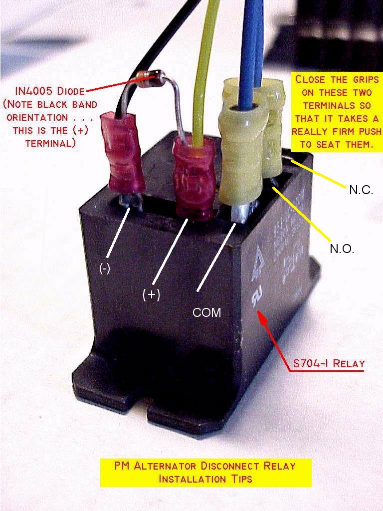 Double Pole Relay Wiring Diagram
