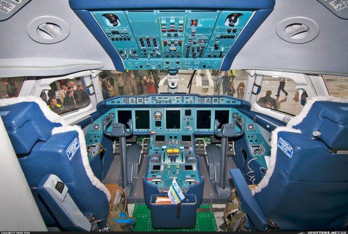 Cockpit do An-178